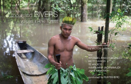 '3 thousand RIVERS' project pitch at 1pm today