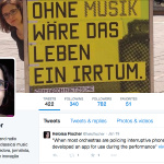 Classical music innovation on Twitter