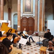 "French baroque music meets Noh -""Tendres plainte"" (Jean-Philippe Rameau)"