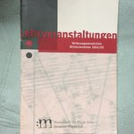 Course book from HfM Wuppertal 04