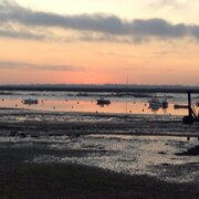 Mersea Island Evening Scene