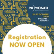 Registration NOW OPEN - WOMEX 20