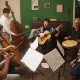 Brazilian Septet Rehearsel shotting