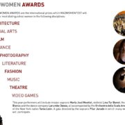 MADWOMEN AWARDS