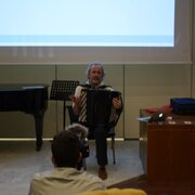 Lecture ''Accordion for Composers'', Konstantinos Raptis