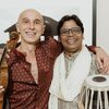Gilles APAP, friend of Menuhin with Udhai MAZUMDAR, disciple of Shankar