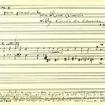 "Manuscript for ""Miserere +"" (1999)"