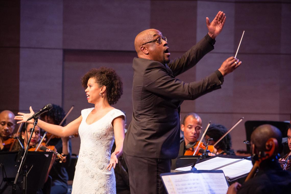 Nicole Jordan and Shaun Matthew -Chineke! Orchestra
