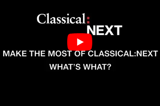 Your Checklist - Classical:NEXT