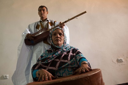 Music of Exile of the Western Sahara