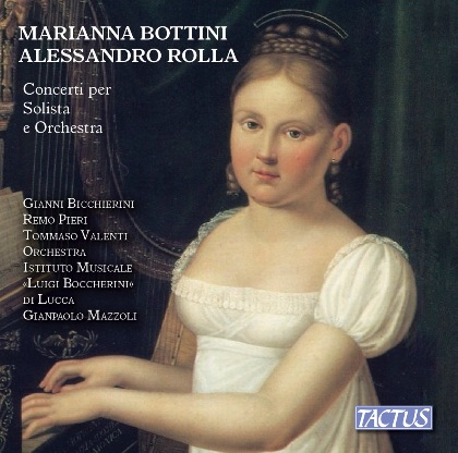 BOTTINI/ROLLA: Concertos for Solo and Orchestra - Remo Pieri (clarinet); Gianni Bicchierini (piano); Tommaso Valenti (viola)