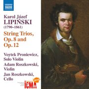 CD Booklet Karol Lipnski String Trios op.8 and op.12